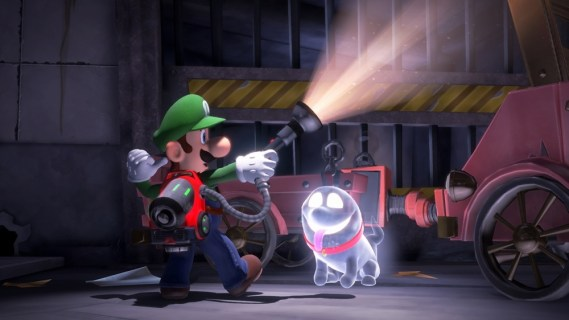 Screenshot 2: Luigi's Mansion 3