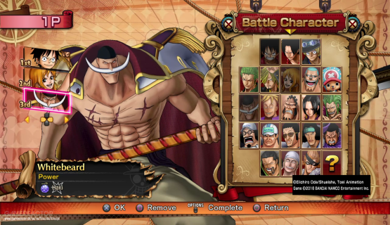 Screenshot 3: One Piece Burning Blood