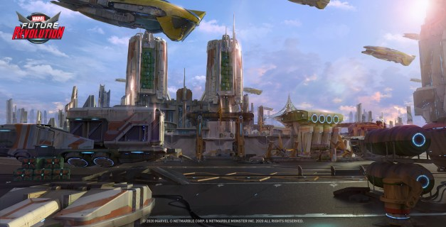 Screenshot 3: MARVEL Future Revolution