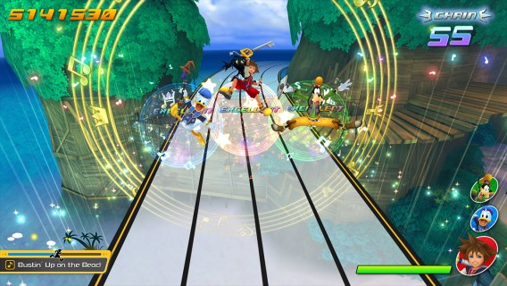 Screenshot 1: Kingdom Hearts Melody of Memory