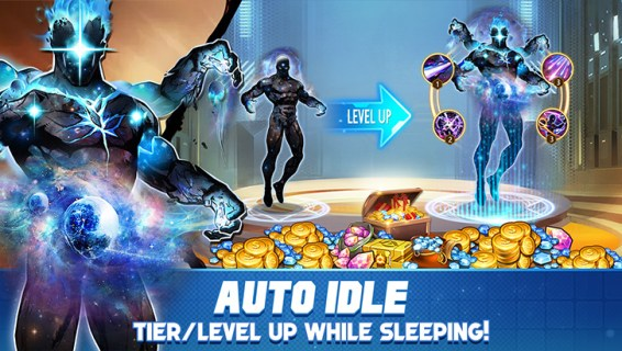Screenshot 3: X-HERO: Idle Avengers