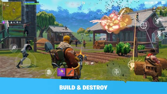 Screenshot 1: Fortnite | Simplified Chinese