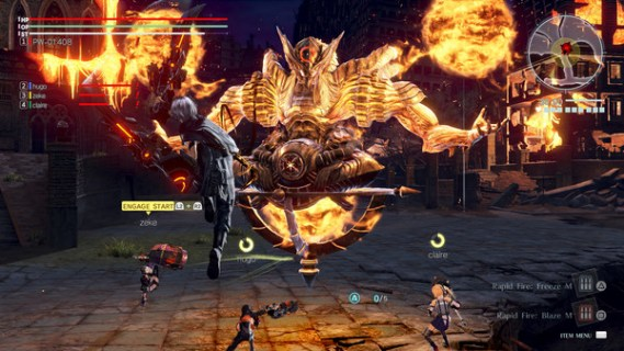 Screenshot 2: GOD EATER 3