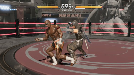 Screenshot 2: DEAD OR ALIVE 6
