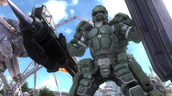 Screenshot 2: Terre Défense Force 5