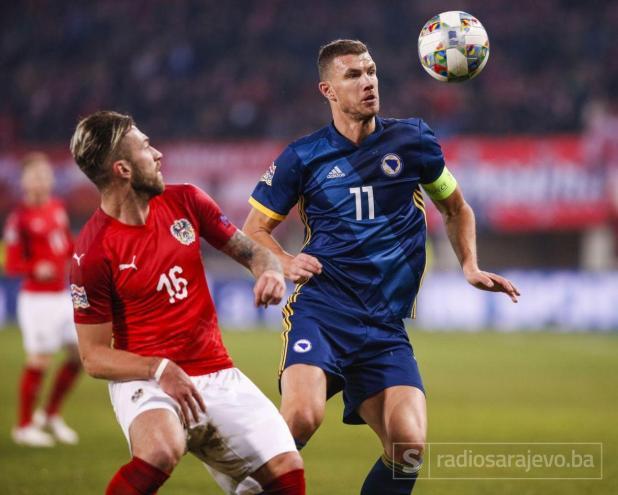 Edin Džeko je sjajno kao kapiten vodio BiH do Divizije A - undefined