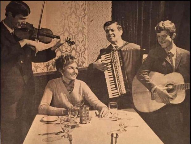 Bosnian Trio, 1970. - undefined