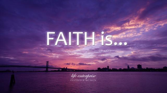 Faith is... Art Work