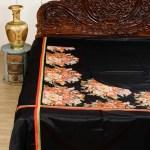 Black King Size Bedsheet