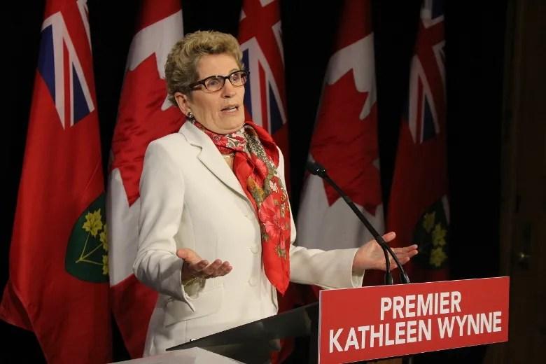 Premier Kathleen Wynne (Antonella Artuso/Toronto Sun)