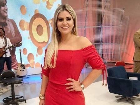 Apresentadora da TV Diário, Jack Lima