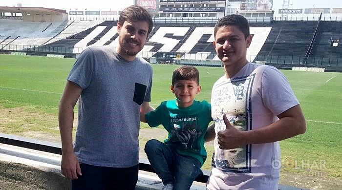 Empresário Bernardo, Matheus Henrique e seu pai Tiago Henrique