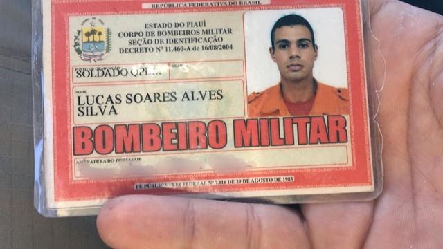 Soldado Lucas Soares teve morte imediata no acidente