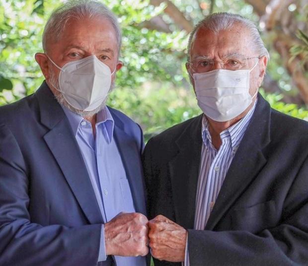 Lula e Sarney
