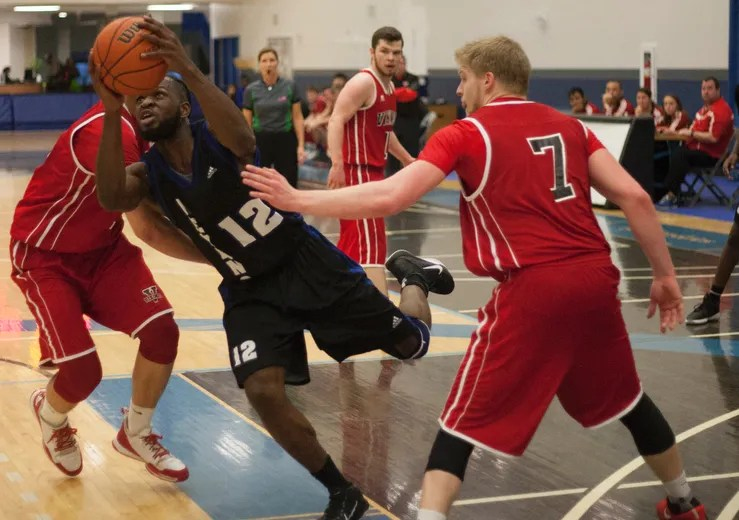 Keyano Basketball Men Split With Vikings Fort McMurray Today