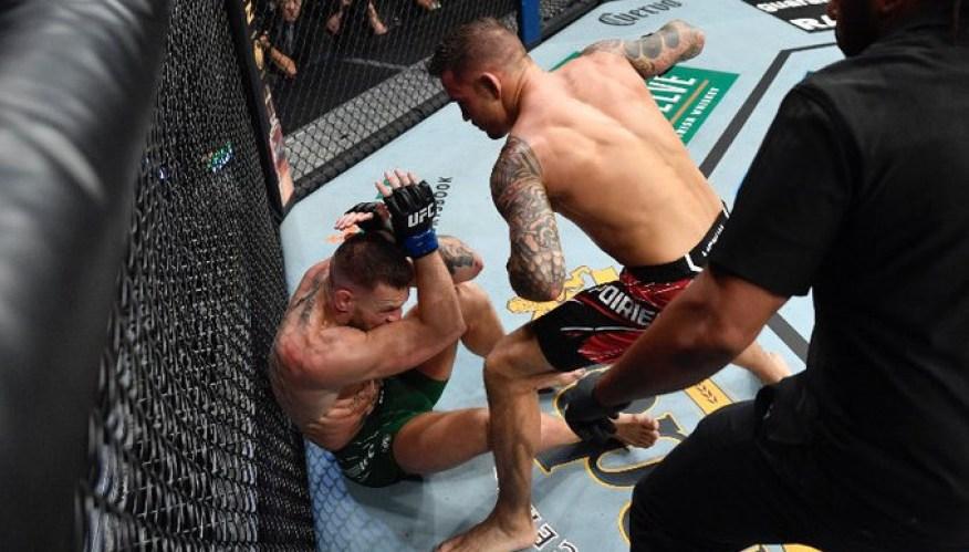 Dustin Porrier-Interview after defeating Conor McGregor at UFC 264