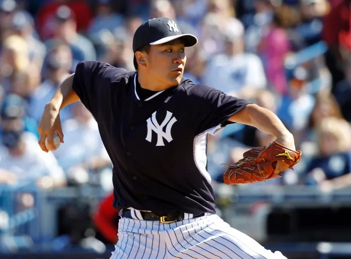 MLB Notes Tanaka Pitches Two Scoreless Innings In Debut Ottawa Sun