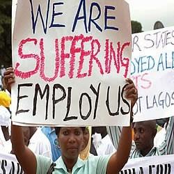 22.6m Nigerians Unemployed In 2014 – National Bureau Of Statistics
