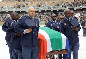 27-Year Old South African Football Captain Laid To Rest | Photos