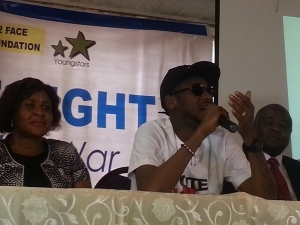 2Face Leads Colleagues in Campaign for Violence-Free Elections