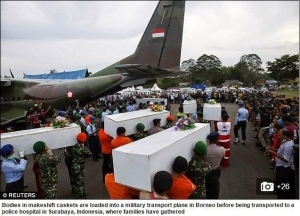30 Bodies Now Recovered from AirAsia Flight; Some Still Strapped to their Seats
