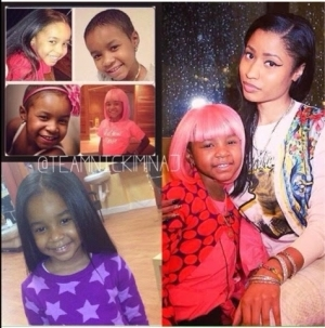 5-year-old Cancer Patient That Was Desperate To Meet Nicki Minaj And Wear Her Pink Wig Is Dead