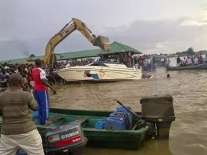5 PDP members die in boat accident in Bayelsa state ( Photos)