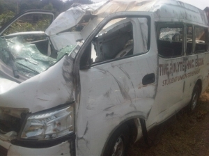 A Student Of Polytechnic Of Ibadan Union Involve In A Ghastly Accident