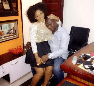 Actress Mercy Aigbe-Gentry and hubby loved up in new photo