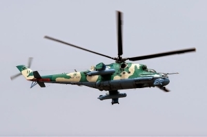 Airforce Helicopter Crashes In Lagos This Morning