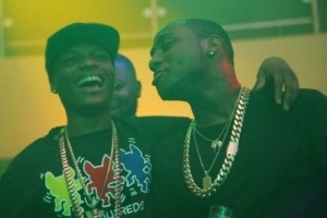All Love! Wizkid Shouts Out Davido