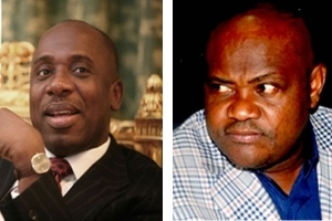 Amaechi, Wike Renew War Of Words Over State Of Roads, Monorail Project