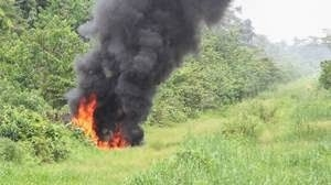 Another Fire Outbreak Hits Bayelsa Oil Trunk Line