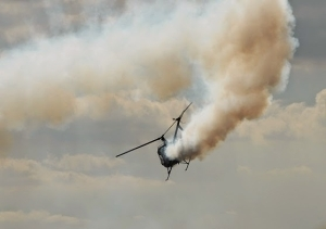 Another military helicopter crashes in Yola