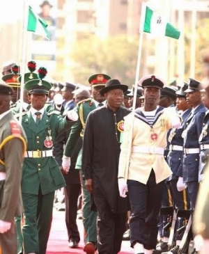Armed Force remembrance day in Abuja today.
