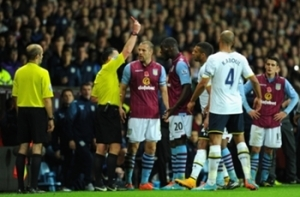 Aston Villa and Tottenham accepted the standard penalty fine of €25,000 By FA.