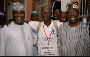 Atiku Abubakar And Bola Tinubu Welcome Man Who Trekked From Yola To Abuja
