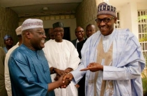 Atiku Abubakar meets Buhari in Abuja to congratulate him