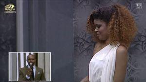 #BBAHOTSHOTS: Samantha, Mr 265 Gets Evicted