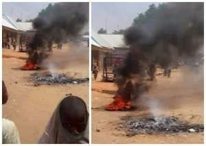 Bad!! Woman Accused Of Witchcraft Burnt To Death In Kebbi (See Photos)