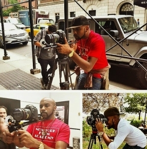 Banky W Returns To School; SEE Him In Action