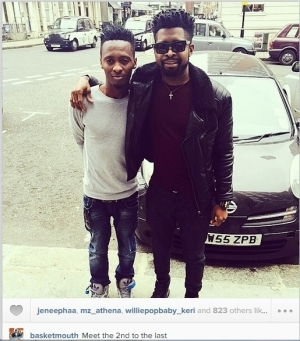 Basketmouth Shares New Selfies With His Younger Brothers And Their Dreadlocks (Photos)