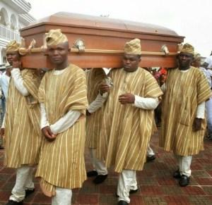 Billionaire business man, Chief Bayo Kuku laid to rest (Funeral)