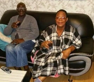 Bimbo Akintola shows off her parents - who have been married for 49 years