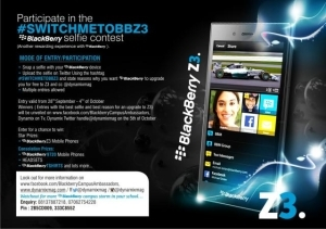 Blackberry Nigeria excites youths with #SwitchMeToBBZ3