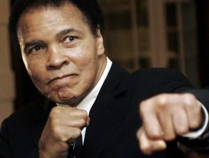 Boxing Legend Muhammad Ali In Hospital