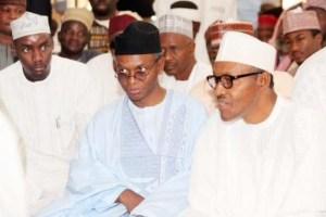 Buhari Attends Nasir El-Rufai