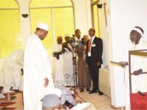 Buhari Prays In Villa Mosque Yesterday To Ease City Centre Traffic - Pres. Spokesman, Mr. Femi Adesina