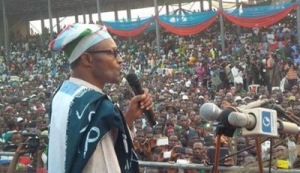 Buhari in Osun, Vows to Break Circle of Insecurity, Corruption, Unemployment