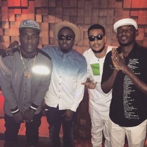 Burna Boy, 2face, Ice Prince, DJ Jimmy Jatt… Others Party with AKA – PHOTOS